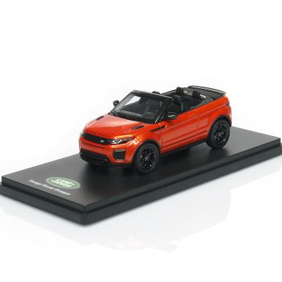 LAND ROVER Range Rover Evoque - Convertible / phoenix orange / ( 2011 )