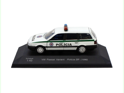 Carmodels SK   M 1:43   VW Passat Variant - Polícia SR (1996)