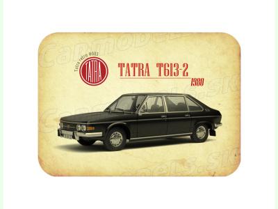 Carmodels SK |  | MAGNETKA Tatra T613-2 (1980)
