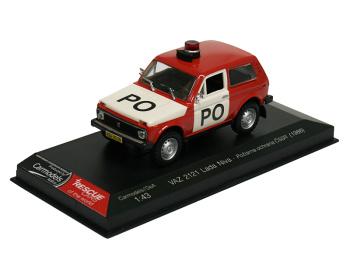 VAZ 2121 Lada Niva - Požiarna Ochrana ČSSR (1986)