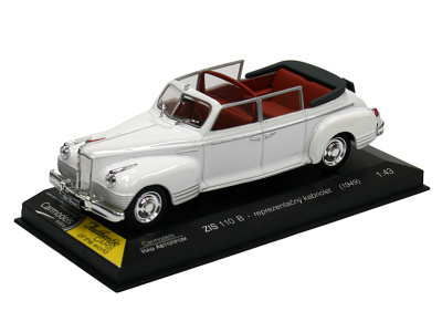 Carmodels SK | M 1:43 | ZIS 110 B - Reprezentačný kabriolet (RUS) (1949)