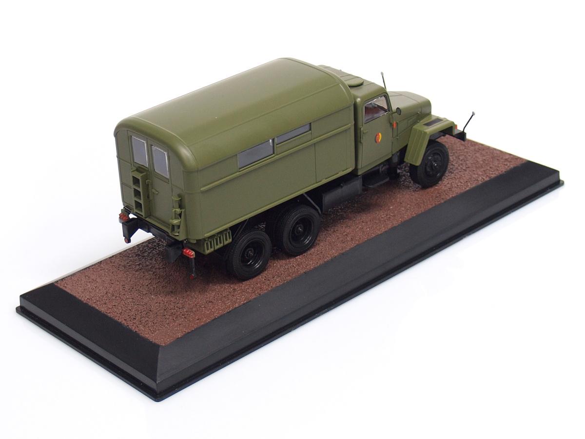 Atlas | M 1:43 | IFA G5KO - Špeciálne vozidlo - Národná ľudová armáda (NDR) (1952-1964)