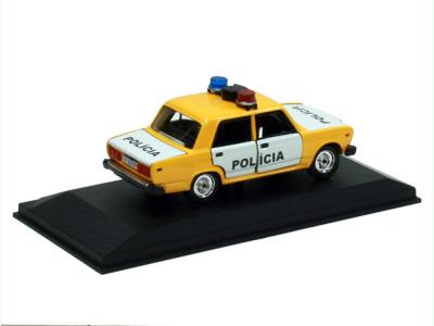 Agat / Tantal | M 1:43 | VAZ 2107 Lada - Polícia ČSFR (1990)