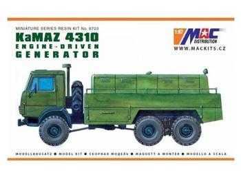 KamAZ 4310 6x6 - Generátor
