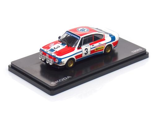 ŠKODA 130RS - #3 Haugland / Floene - Rallye Skoda (1976)