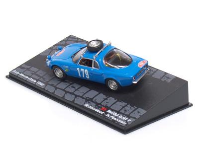 Altaya | M 1:43 | MATRA DJET V #179 - JP.Jaussaud /H.Pescarolo - Rallye Monte Carlo (1966)