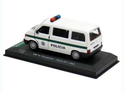 Carmodels SK | M 1:43 | VW Transporter T4 - Polícia SR (1995)