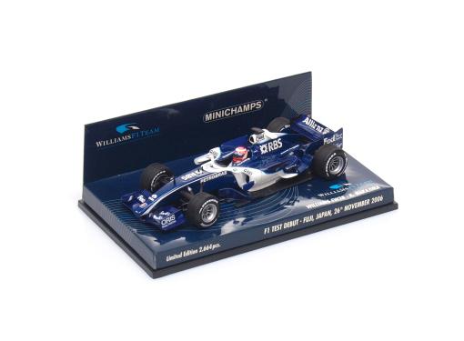 WILLIAMS Cosworth F1  FW28 - Test Debut K.Nakajima / Fuji, Japan ( 2006 )