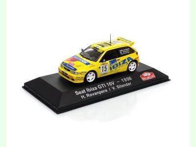 Atlas | M 1:43 | SEAT Ibiza GTI 16V # 15 H.Rovanpera / V.Silander RMC (1998)