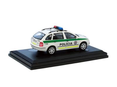 Abrex CZ | M 1:43 | ŠKODA Fabia I. Combi Polícia SR (1998)