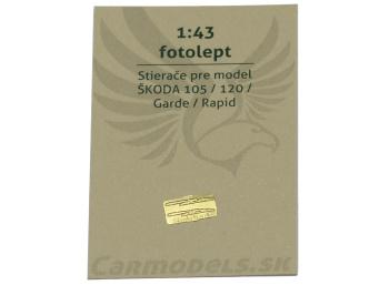 Fotolept - Stierače pre modely Škoda 105 / 120 / Garde