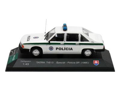 Carmodels SK / DeA   M 1:43   TATRA T-613 Špeciál - Polícia SR (1995)