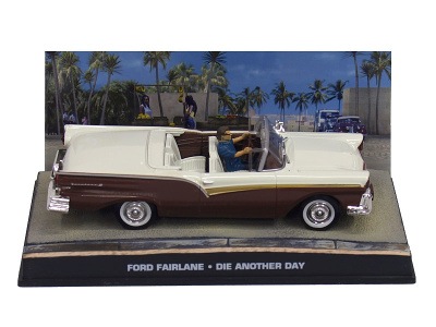 """Eaglemoss Publications   M 1:43   FORD Fairlane - James Bond Series """"Die Another Day"""""""