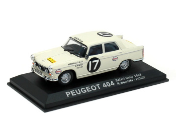 PEUGEOT 404 #17 - N.Nowicki / P.Cliff - Safari Rally (1968)