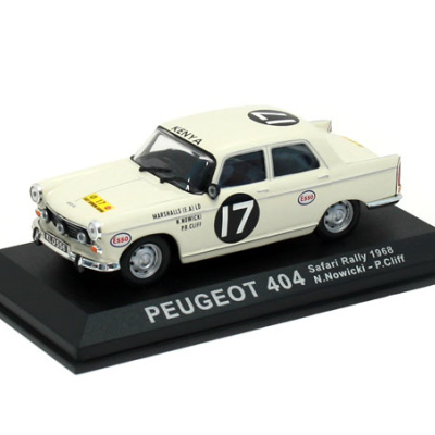 PEUGEOT 404 #17 - N.Nowicki / P.Cliff - Safari Rally (1968)