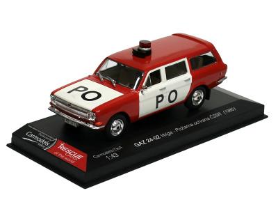 Carmodels SK / DeA | M 1:43 | GAZ 24-02 Volga - Požiarna ochrana ČSSR (1985)