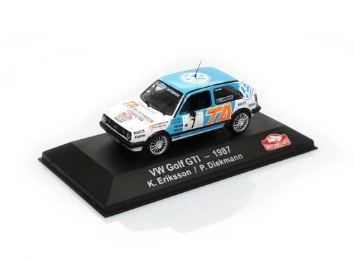 VW Golf GTI # 7  K.Eriksson / P.Diekmann RMC (1987)