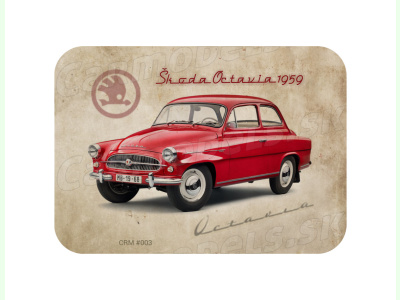 Carmodels SK |  | MAGNETKA Škoda Octavia (1959)
