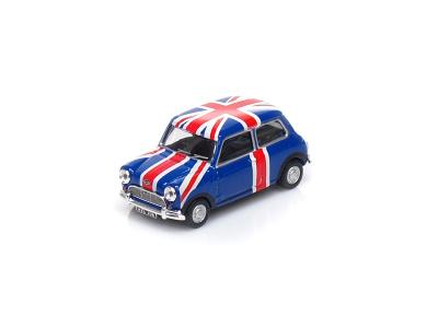 "Cararama / Hongwell | M 1:43 | MINI Cooper Sport ""British Flag"" (1960)"