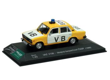 VAZ 2106 Lada - Verejná bezpečnosť ČSSR (1988)