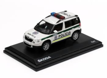 ŠKODA Yeti - Polícia SR (2010)