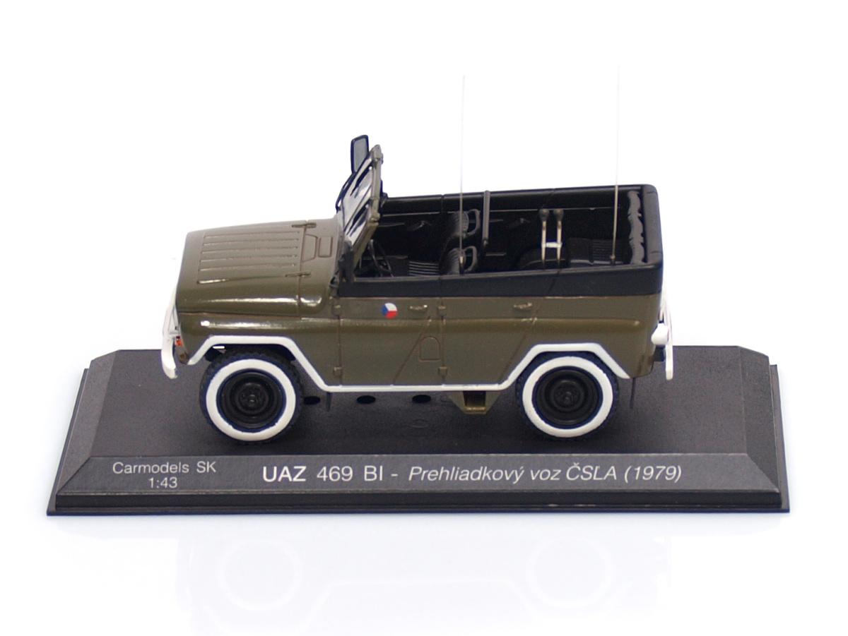 Carmodels SK / DeA | M 1:43 | UAZ 469 BI - Prehliadkový voz ČSĽA ( 1979 )
