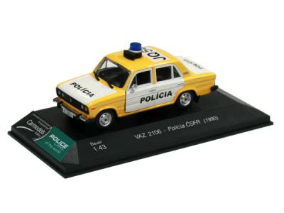 Bauer | M 1:43 | VAZ 2106 Lada - Polícia ČSFR (1990)