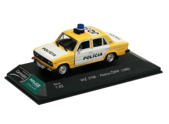 VAZ 2106 Lada - Polícia ČSFR (1990)