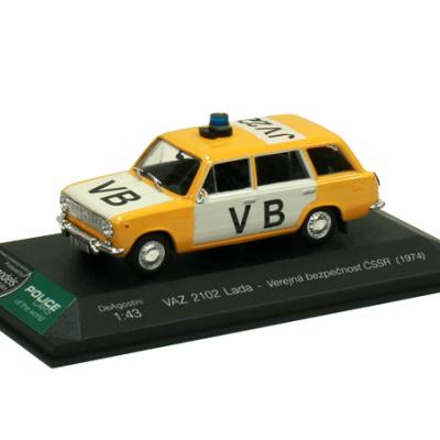 VAZ 2102 Lada - Verejná bezpečnosť ČSSR (1981)