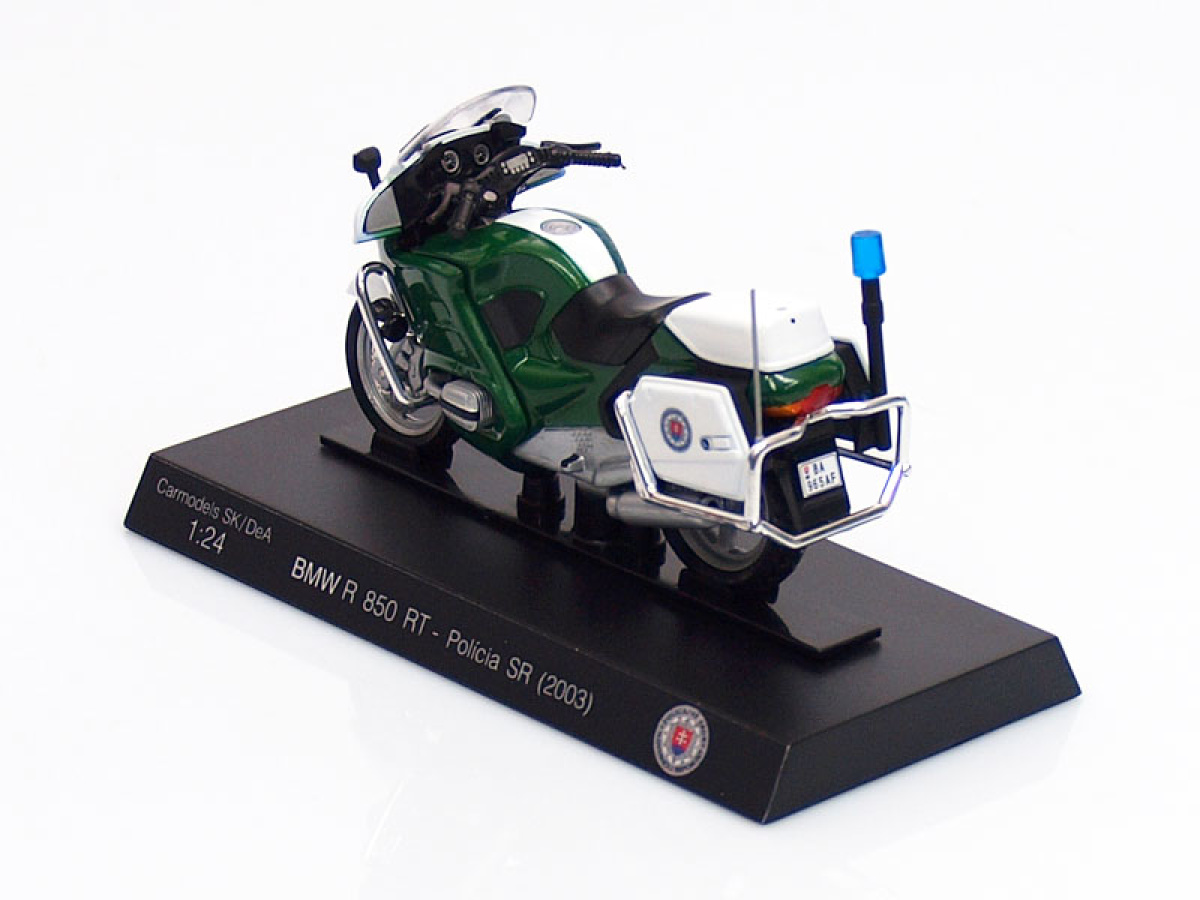 Carmodels SK / DeA | M 1:24 | BMW R 850 RT - Polícia SR ( 2003 )