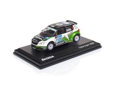Abrex CZ | M 1:43 | ŠKODA Fabia II Facelift S2000 #1 Hänninen / Markkula - SATA Rallye Acores (2012)