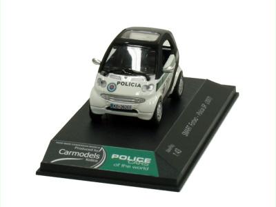 Carmodels SK | M 1:43 | SMART For Two - Polícia SR (2007)
