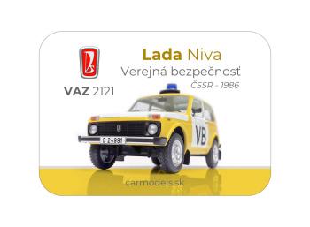 MAGNETKA VAZ 2121 Lada Niva - VB ČSSR (1986)