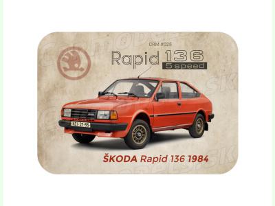 Carmodels SK |  | MAGNETKA Škoda Rapid 136 (1984)