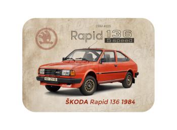 MAGNETKA Škoda Rapid 136 (1984)