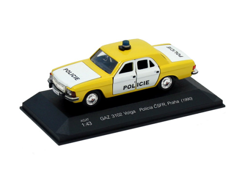 GAZ 3102 Volga - Policie ČSFR, Praha (1990)
