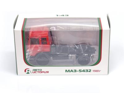 Auto Historia | M 1:43 | MAZ 5432 Ťahač (1981)