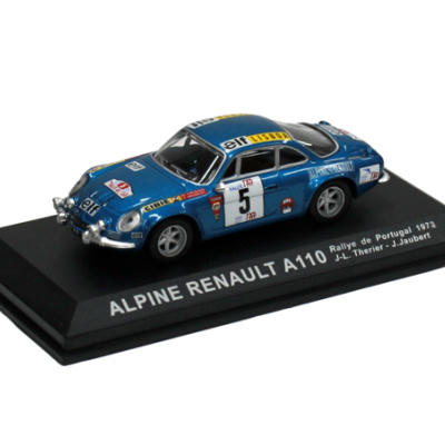 RENAULT ALPINE A110 #5 J-T.Therier / J.Jaubert - Rallye de Portugal (1973)