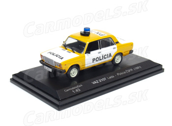 VAZ 2107 Lada - Polícia ČSFR (1991)
