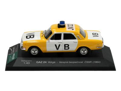Carmodels SK | M 1:43 | GAZ 24 Volga - Verejná bezpečnosť ČSSR (1984)