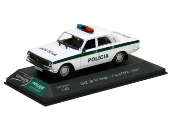 GAZ 24-10 Volga - Polícia ČSFR (1991)