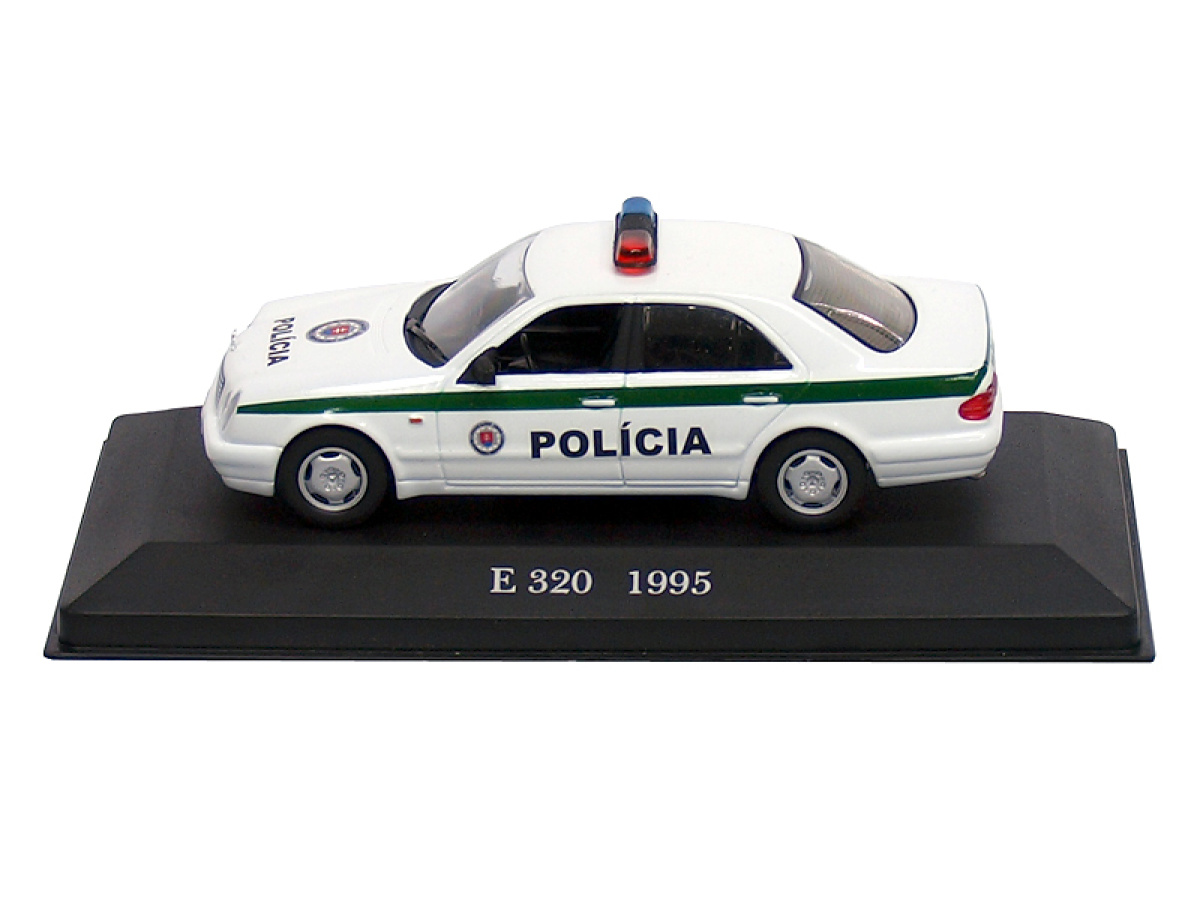 Altaya | M 1:43 | MERCEDES BENZ E320 - Polícia SR (1995)