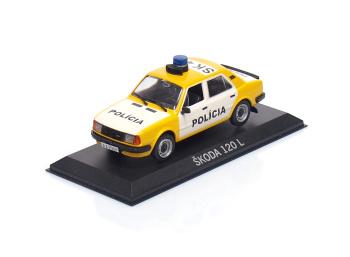 ŠKODA 120L - Polícia ČSFR (1990)