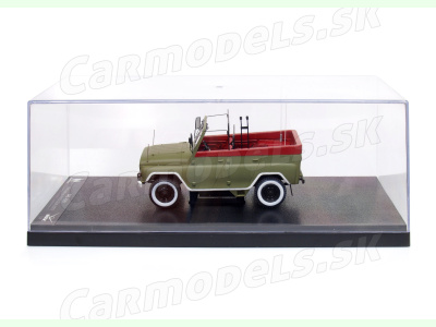 Carmodels SK / White Box   M 1:24   UAZ 469BI - Prehliadkové vozidlo ČSĽA (1979)