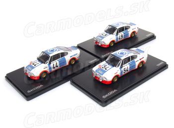ŠKODA 130 RS - Rally Monte Carlo 1977 / # 44 / # 49 / # 54
