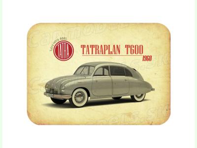 "Carmodels SK |  | MAGNETKA Tatra T600 ""Tatraplan"" (1960)"