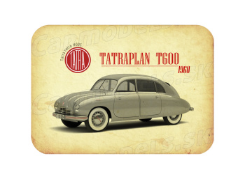 """MAGNETKA Tatra T600 """"Tatraplan"""" (1960)"""