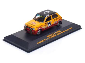 RENAULT 5 Alpine #19 - J.Ragnotti / J.-M.Andrié - Rallye Monte Carlo (1978)