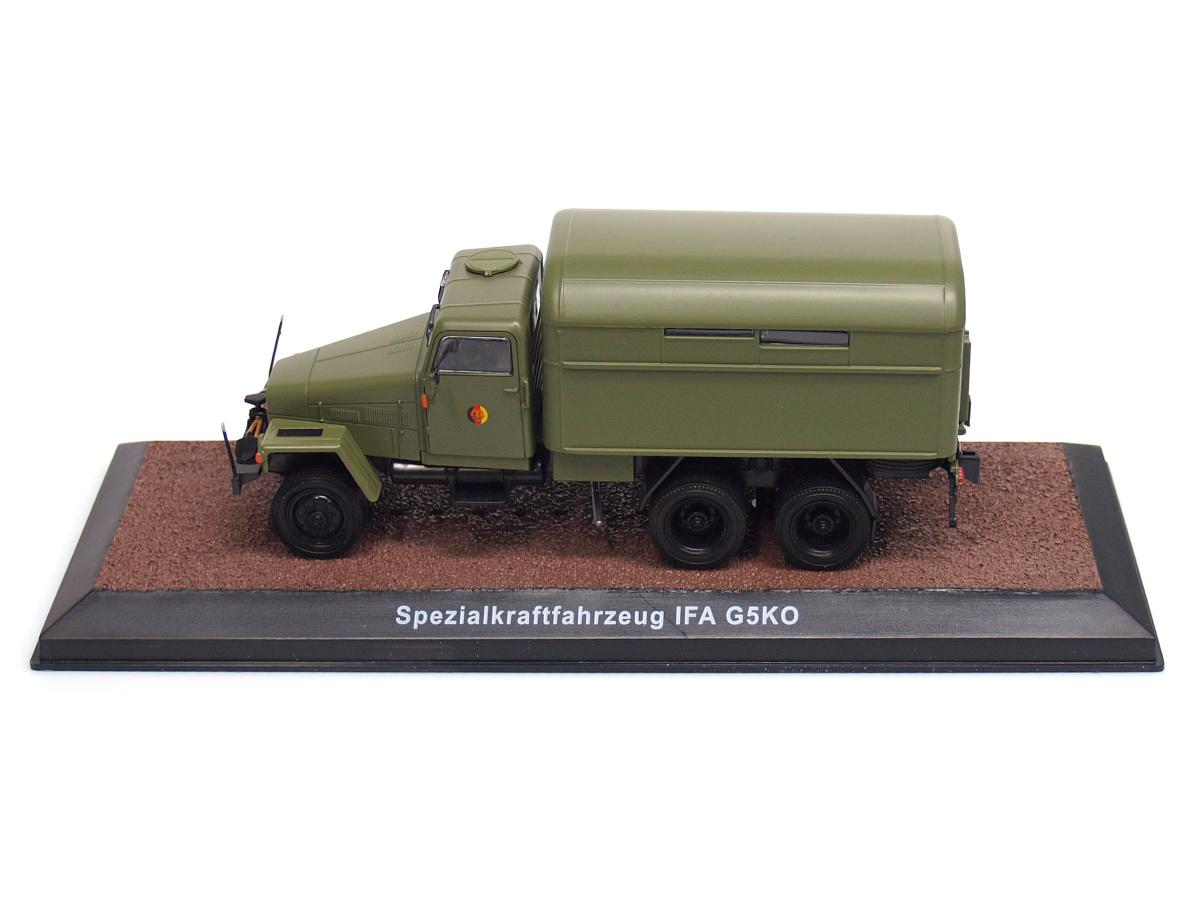 Atlas   M 1:43   IFA G5KO - Špeciálne vozidlo - Národná ľudová armáda (NDR) (1952-1964)