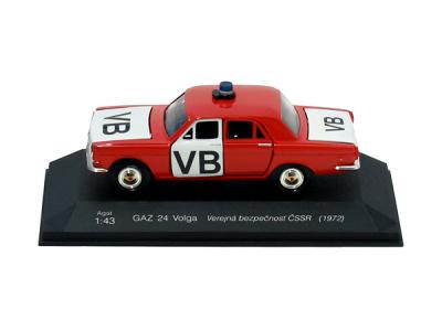 Agat / Tantal | M 1:43 | GAZ 24 Volga - Verejná bezpečnosť ČSSR (1972-1973)